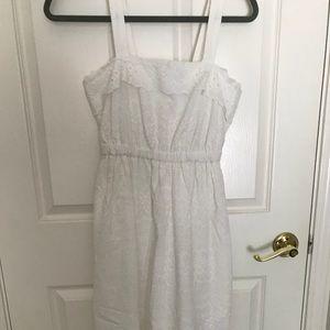 056a4e8c6e5 Madewell Dresses - Madewell eyelet tiered midi dress